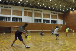 2020/07/27(月) ソフトテニス練習会
