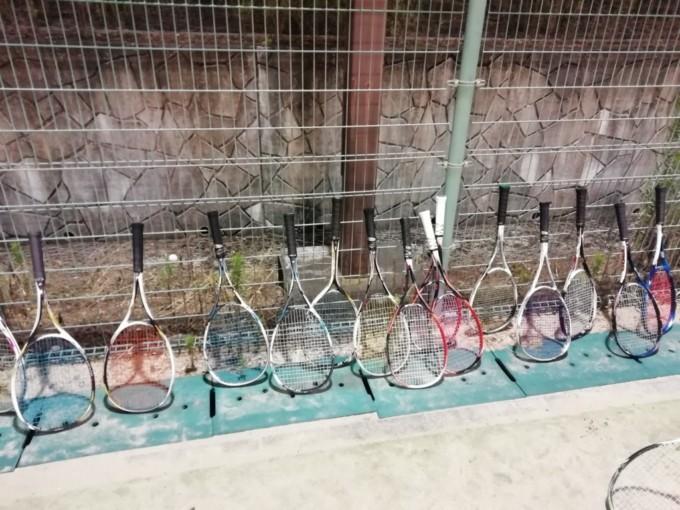 2019/08/16(金) ソフトテニス練習会 ヨネックス試打ラケット