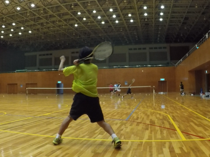 2020/08/03(月) ソフトテニス練習会 滋賀県近江八幡市