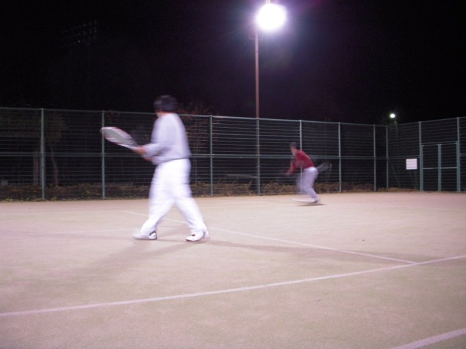 2008/11/26(水) ソフトテニス練習会