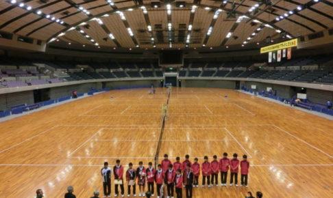 ソフトテニス 中学都道府県対抗2013