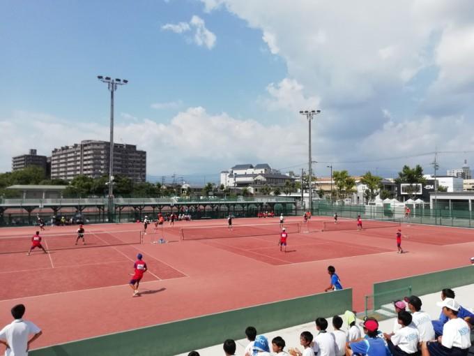 滋賀県ソフトテニス 中学夏季大会2018【結果】