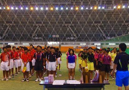 滋賀県ソフトテニス 中学夏季大会2014【結果】
