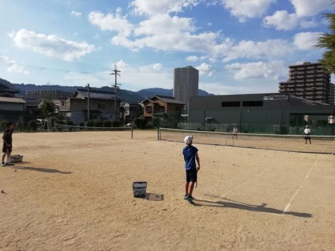 滋賀県大津市 尾花川公園 テニスコート