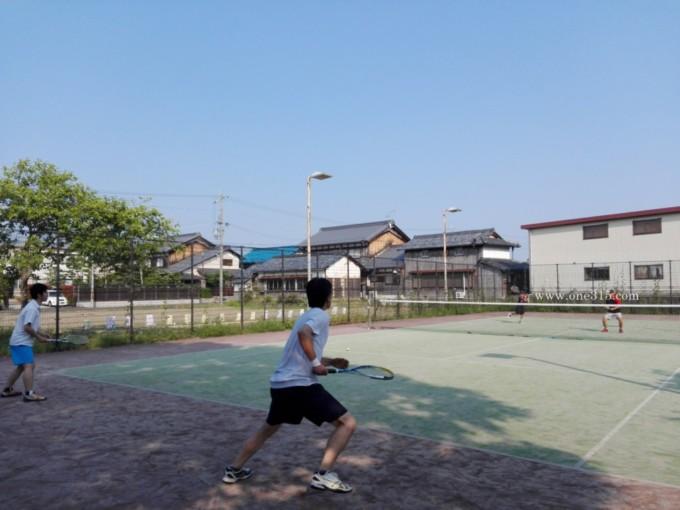 プラスワンコート 近江八幡市 ソフトテニス