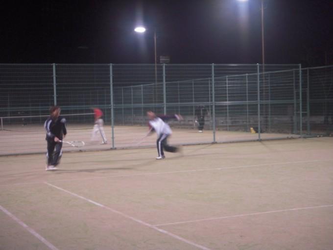 2008/12/17(水) ソフトテニス練習会