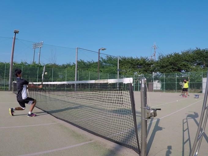 2019/07/24(水) ソフトテニス 夕方練習会@滋賀県東近江市