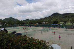 滋賀県野洲市 希望ヶ丘文化公園テニスコート