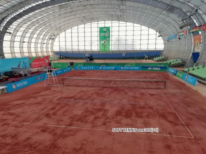 大韓民国順川市 Suncheon palma public playgroundテニスコート