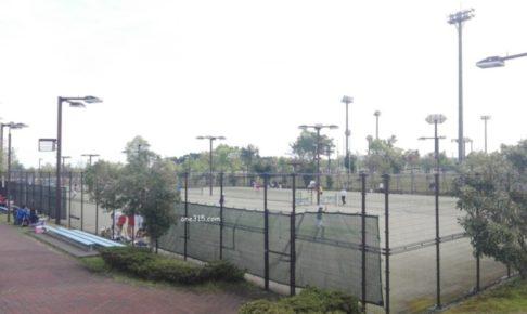滋賀県高島市 今津総合運動公園テニスコート プラスワンソフトテニス