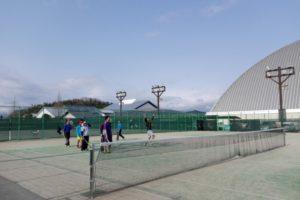 滋賀県蒲生郡 ドラゴンハット・テニスコート