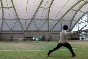 2021/02/01(月) ソフトテニス自主練習会【滋賀県】プラスワン・ソフトテニス 平日練習会 東近江市