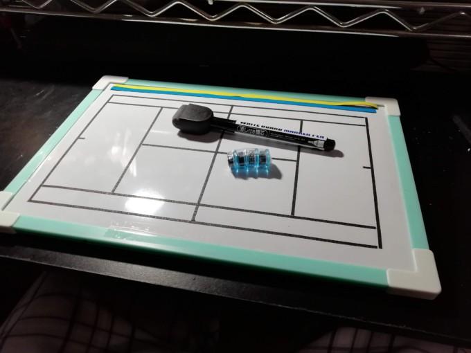 2021/02/11(木) 手作りソフトテニス作戦ボード【ご注文ありがとうございます】