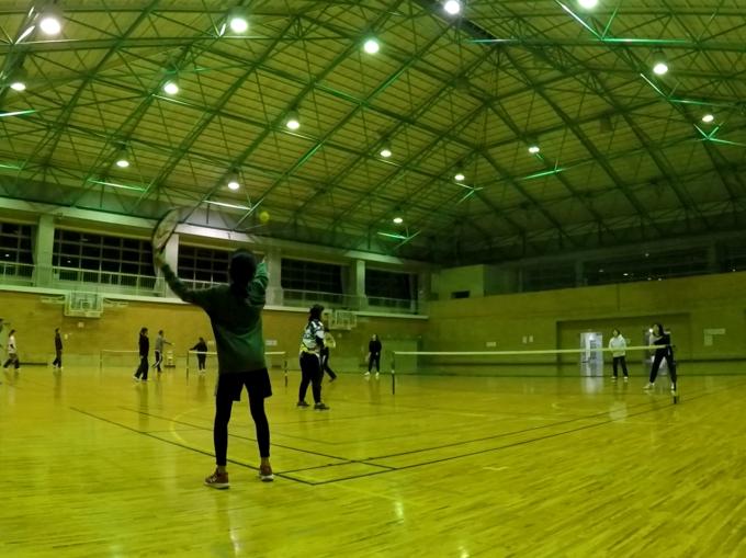 2021/02/03(水) スポンジボールテニス【滋賀県】プラスワン・ソフトテニス サンビレッジ近江八幡