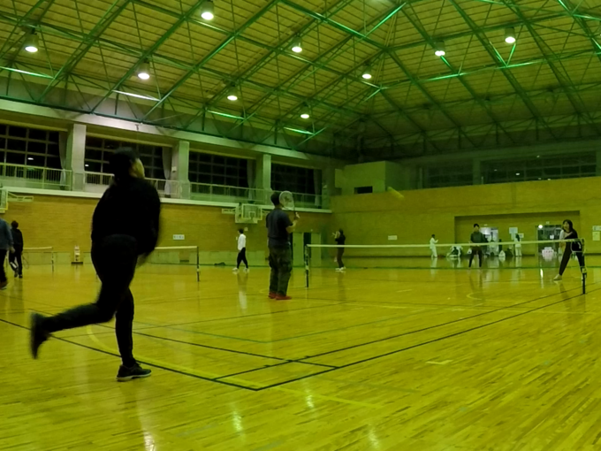2021/02/17(水) スポンジボールテニス【滋賀県】フレッシュテニス ショートテニス プラスワン・ソフトテニス