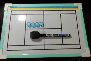手作りソフトテニス作戦ボード プラスワン・ソフトテニス