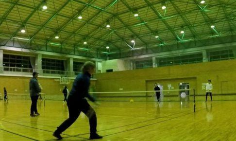 2021/03/03(水) スポンジボールテニス【滋賀県】プラスワン・ソフトテニス フレッシュテニス ショートテニス 近江八幡市
