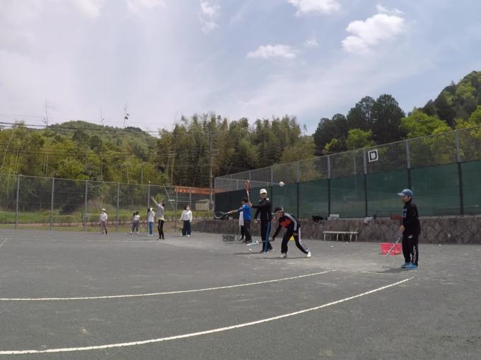 2021/04/24(土) ソフトテニス 未経験からの練習会【滋賀県】小学生 中学生 のんびり 初めての