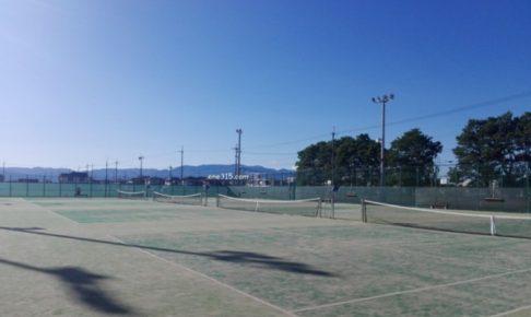 滋賀県守山市 守山市民運動公園テニスコート2017