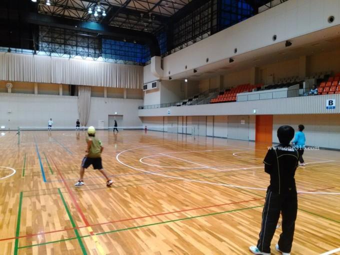 滋賀県守山市 守山市民体育館テニスコート
