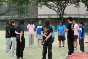 2013/06/23(日) 審判講習会からのソフトテニス♪滋賀短期大学