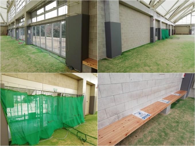 テニスコート ひばり公園ドーム