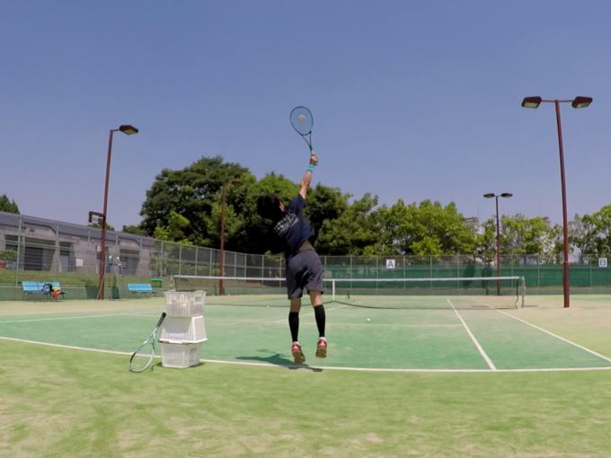 2021/06/10(木) ソフトテニス 自主練習会1【滋賀県】サーブ練習