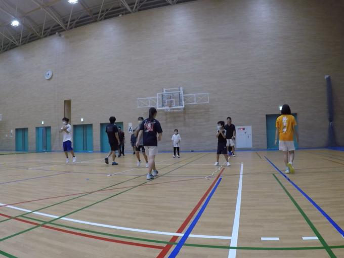 2021/06/19(土) ソフトテニス基礎練習会【滋賀県】リズムトレーニング リズムジャンプ