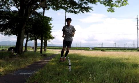 2021/06/23(水) ソフトテニス練習会参加からのリズムジャンプの練習【リズムトレーニング】