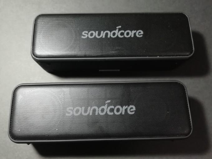 Anker SOUNDCORE Bluetoothスピーカー(2個目)リズムトレーニング リズムジャンプ