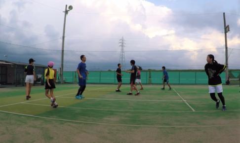 2021/07/15(木) 出張リズムトレーニング@岐阜西ソフトテニスアカデミー様 リズムジャンプ