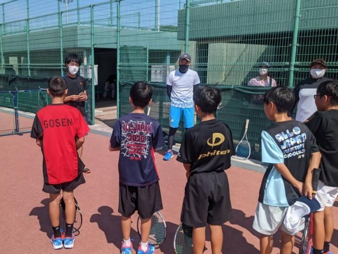 2021/07/22(木祝) 出張リズムトレーニング@ソフトテニス滋賀県小学生男子選抜チーム様