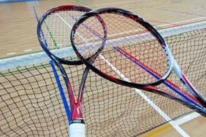 ミズノのソフトテニスラケット・スカッドプロRとCの試打を借りました