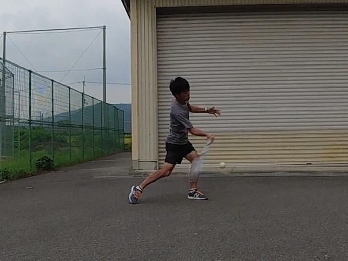 2021/09/01(水) ソフトテニス・自主練習会【滋賀県】 壁打ち