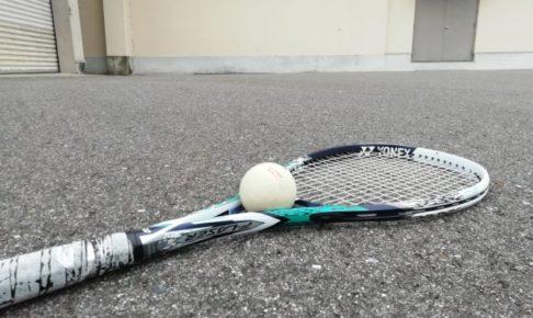 2021/09/01(水) ソフトテニス・自主練習会【滋賀県】壁打ち