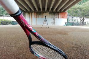 2021/09/07(火) ソフトテニス・自主練習会【滋賀県】壁打ち