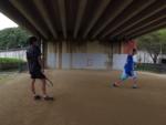 2021/09/14(火) ソフトテニス・自主練習会②【滋賀県】壁打ち