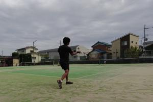 2021/09/21(月) ソフトテニス・自主練習会【滋賀県】シングルス 乱打