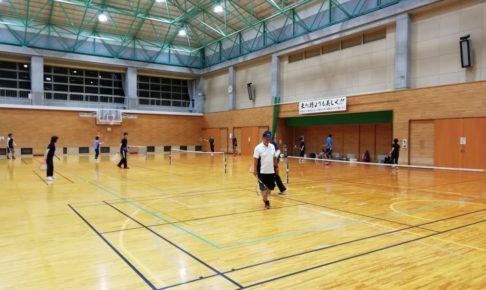 2021/10/13(水) スポンジボールテニス練習会【滋賀県】ショートテニス フレッシュテニス
